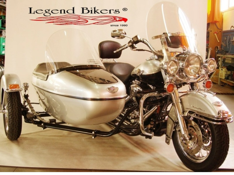 HARLEY DAVIDSON ROAD KING CLASSIC (FLHRCI-TLE) SIDECAR 100° ANNIVERSARY