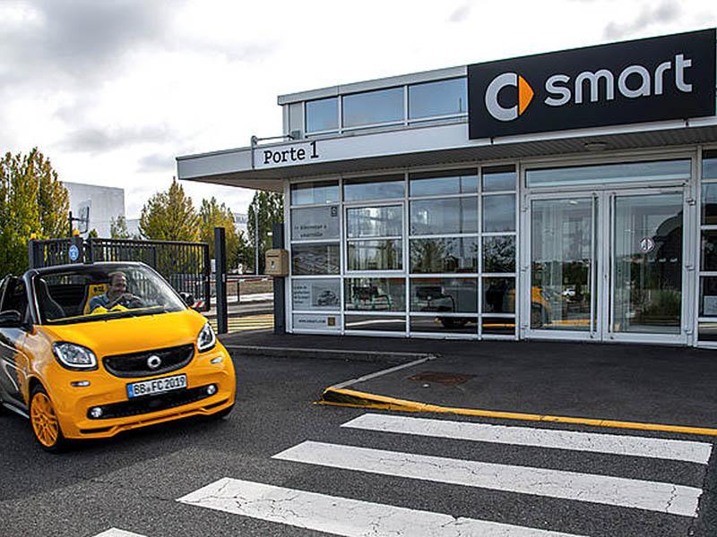 L'ultimo viaggio (a benzina) di Smart
